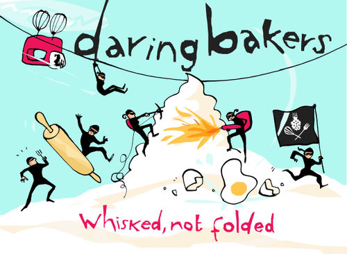 Daring Bakers-Blue