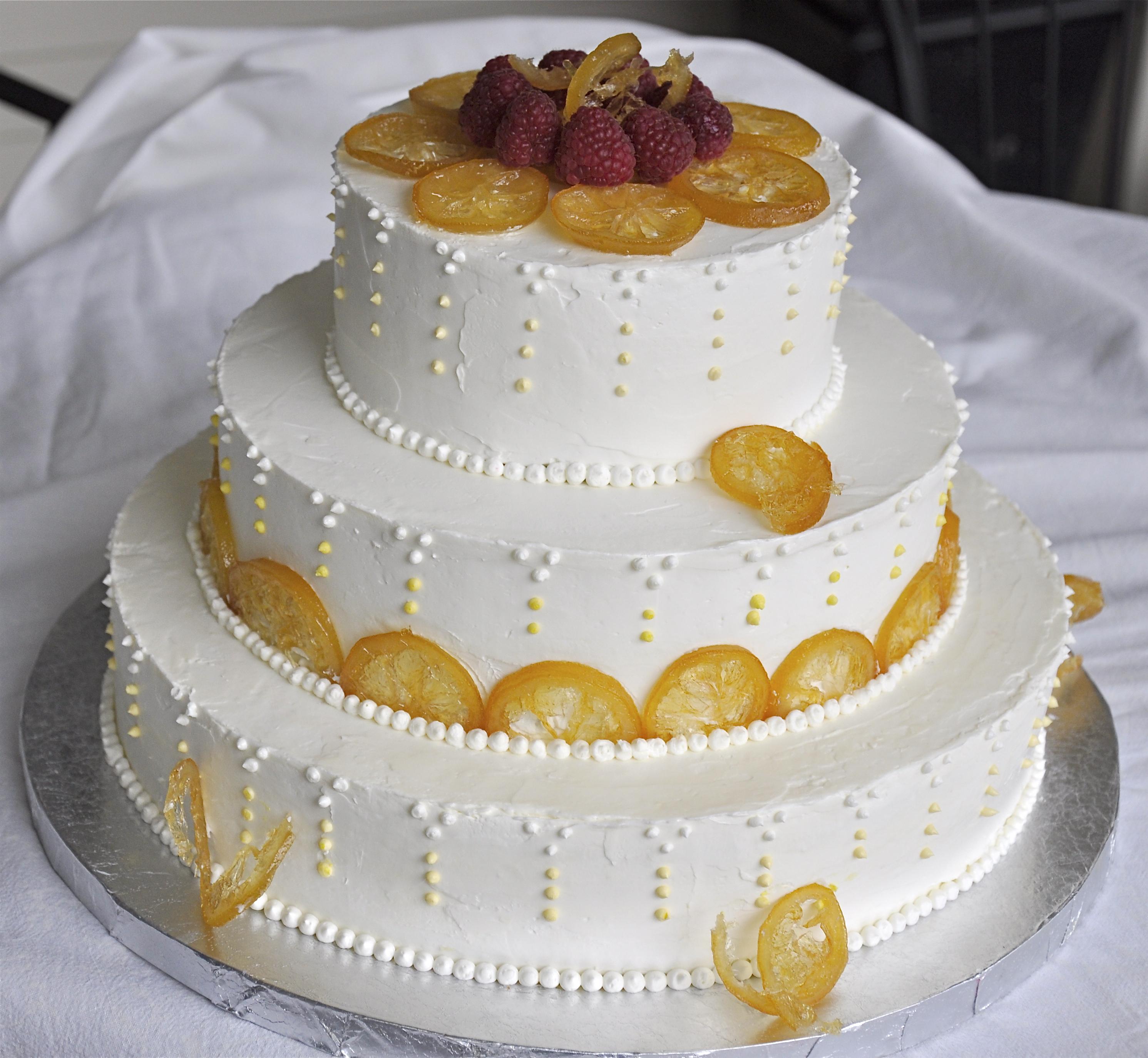 A Wedding Cake - Lemon Tart